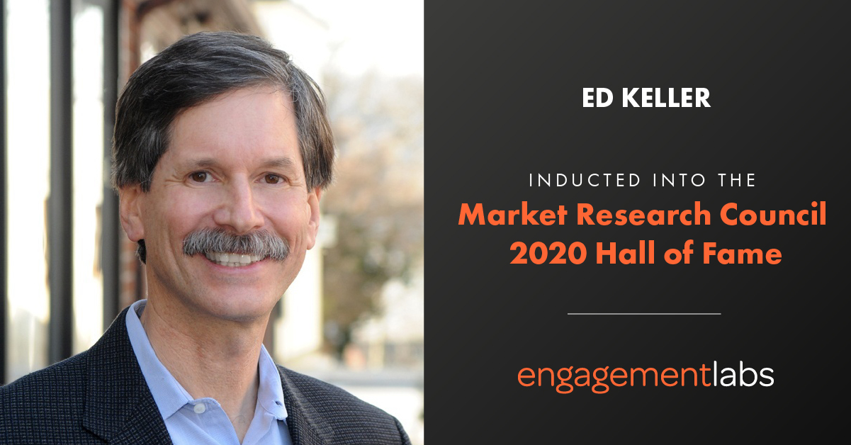 Ed Keller inducted into the Market Research Council 2020 Hall of Fame