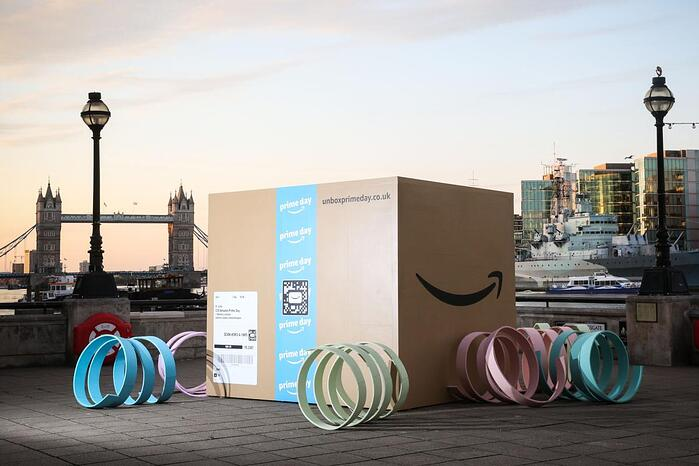 Amazon Jumps into Lead in TotalSocial® UK Retail Industry Ranker