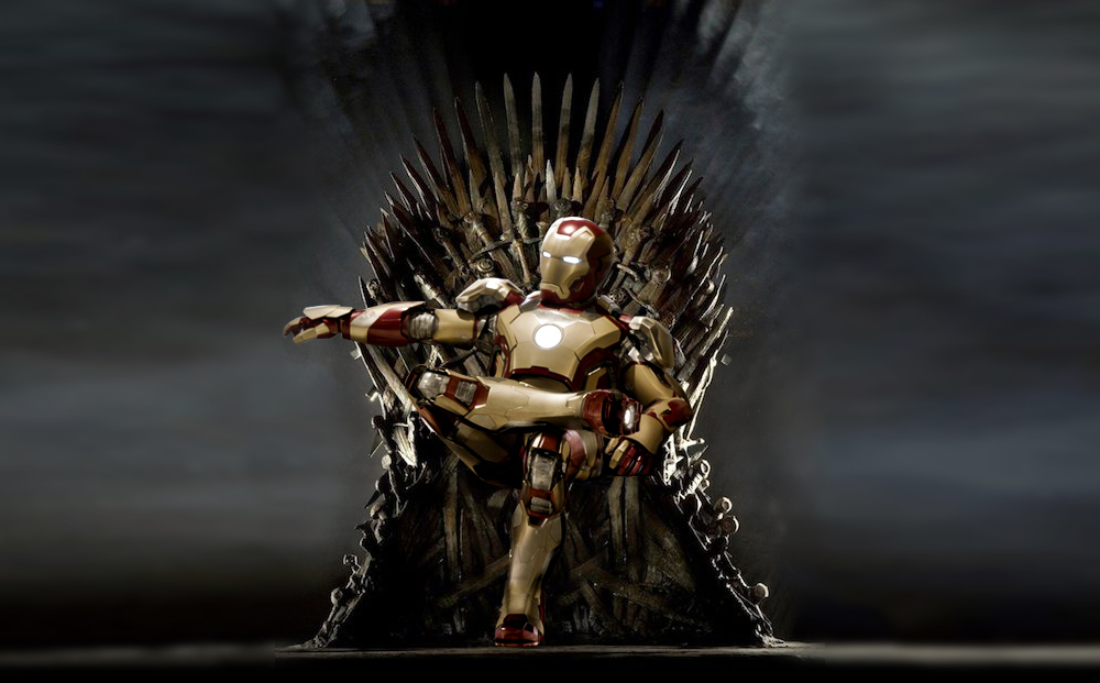 IRON MAN THRONE v3