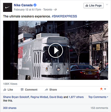 Engagement Labs | Nike Canada Social Media Example