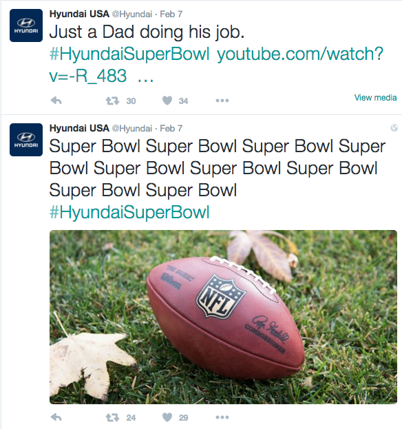 super bowl social data