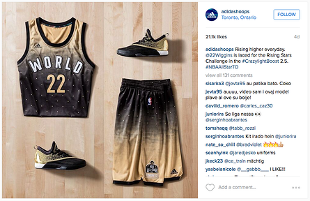 Engagement Labs | Adidas Basketball Instagram Example