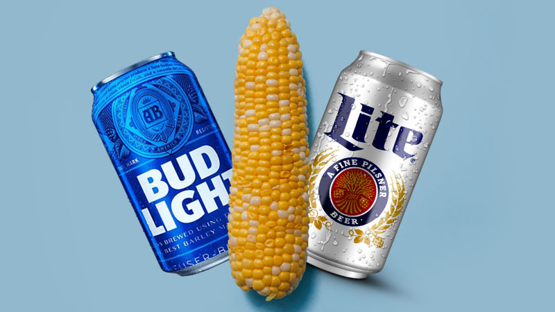 Bud Light vs Miller Lite #Corntroversy