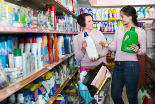 Household cleaning category has no Conversation Commanders